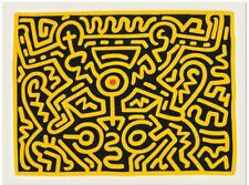 Keith Haring, 'Yellow', Fine art print, Various sizes
