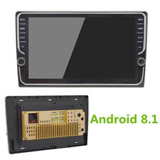"8"" Car 2DIN Stereo Radio Android 8.1 4Core RAM 1GB ROM 16GB Knob GPS Wifi 3G/4G"