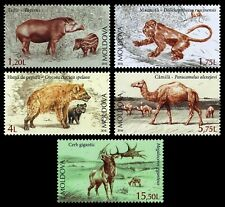 Moldova stamps! Extinct Fauna of Moldova, MNH, 2016, 5v