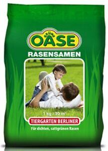 Berliner Tiergarten Oase Rasensamen 1 kg für ca. 30 m²  Rasensamen, Grassamen