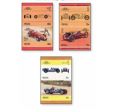 BRC186 Sports cars, 6 stamps