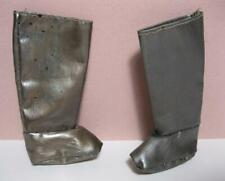 "Mattel 12"" Ken Boy Disney Prince Cloth Fabric Replacement Boots~Metallic shoes"