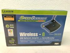 WUSB54GS Linksys Wireless G USB Network Adapter 54MBPS with SpeedBooster