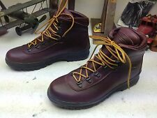 BEAR BY AKU THINSULATE EXTREME OXBLOOD LEATHER LACE UP TRAIL BOSS BOOTS 10.5 m