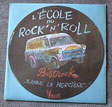 Jeanne La Merciere, l'ecole du rock'n'roll (dire straits) , SP - 45 tours