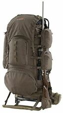 Hunting Backpack Pack Bag Freighter Frame Hiking Rifle Holder Carry Meat Camping