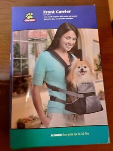 Top Paw® Front Carrier Pet Carrier Dog Cat Medium for pets up to 20 lbs NEW BOX