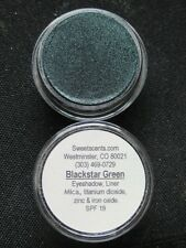 MINERAL MAKEUP~5gm~SWEETSCENTS~BARE~EYESHADOW~VEGAN~LOOSE POWDER~MICA~DARK GREEN