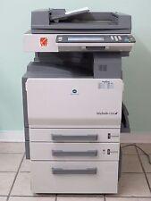 Konica-Minolta Bizhub C250 Color Copier Printer Scanner Network w/ User Manuals