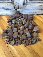 Large Lot Of Red Jasper Mineral Stone Rock. Lake Superior Red Jasper Mix!! 10#