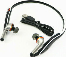 Motorola S11-Flex HD Wireless Stereo Bluetooth Headset (Black & White) - Bulk Pa