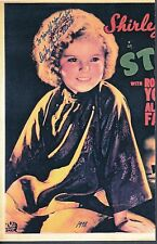 Shirley Temple Signed Black Poster Autograph Auto PSA/DNA AC03881