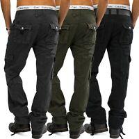 Herren Cargohose RANGER Cargo Hose Jeans Loose Fit Cargohose Work Trousers