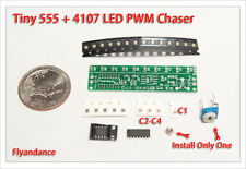 DIY Electronic Kit - New SMT 555 + CD4017 LED Chaser SMD practice flashing PWM