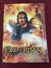 The Lord Of The Rings The Return Of The King Pin Collection & Book