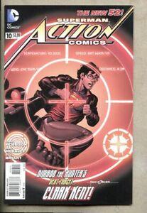 Action Comics #10-2012 nm- 9.2 Standard Cover DC Grant Morrison  New 52 Superman