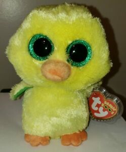 Ty Beanie Boos - NUGGET the Baby Chick (6 Inch)(Easter Exclusive) NEW MWMT