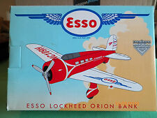 ESSO EXXON ISSUE LOCKHEED ORION PLANE BANK DIECAST NEW MADE BY LIBERTY  J1