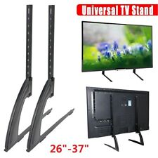 "Universal 26"" - 37"" Table Top TV Pedestal Stand Base fit For Sharp Samsung TCL"