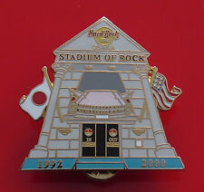 Hard Rock Cafe Metal Pin Badge Osaka Japan Japanese Stadium of Rock 2000