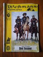 Erdball Nr 873- Jack Hodder -Drei Texaner -Verlag MARDICKE, FRITZ 1961 Orginal