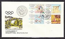 Cyprus 1984 Summer Olympics First Day Cover