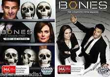 Bones : Seasons 4 & 5 : NEW DVD