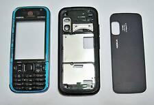 Housing fascia facia faceplate cover case for Nokia 5730 with keypad blue --0000
