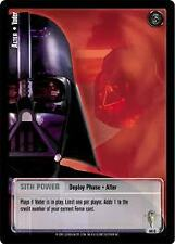Star Wars Jedi Knights Scum and Villainy TCG 86C Alter Vader First Day