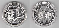 "KIRIBATI & SAMOA – SILVER PROOF 5$ +5 TALA ""BROKEN"" COINS 1997 YEAR KM#25 KM#118"