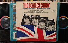 2LPs The BEATLES' STORY orig mono TBO 2222 VG++