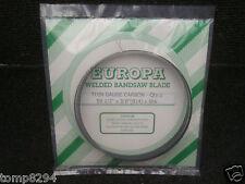 "EUROPA THIN GAUGE CARBON BANDSAW BLADE 59 1/2"" X 3/8"" X 6TPI FIT BLACK & DECKER"