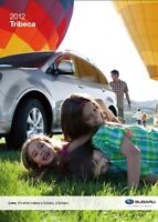 2012 Subaru Tribeca 28-page Sales Brochure Catalog