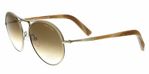 Tom Ford FT0449/S 33F Jessie Bronze/Brown Aviator Sunglasses