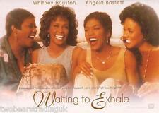 Postcard: Waiting To Exhale - Whitney Houston etc (Boomerang Media Promo) (1996)