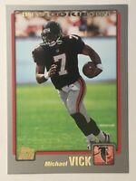 Michael Vick, Hokies, Falcons, Eagles, 2001 Topps #311, ROOKIE CARD RC, + LOT