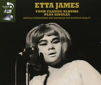 ETTA JAMES - 4 CLASSIC ALBUMS PLUS 4 CD NEW
