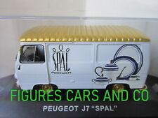 1/43  PEUGEOT J7 PORCELAINES SPAL  IXO PORTUGAL