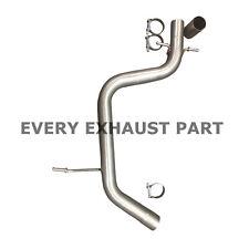 VW Golf GTi Mk5 Center Resonator Mid Silencer Delete Pipe - Deres