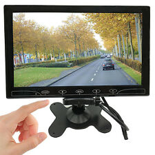 """2in1 10"""" HD HDMI CCTV Monitor Screen Display for Car Monitor RearView Camera DVD"""