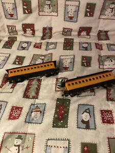 Bachmann K140924 Western & Atlantic Railroad Box Car Lot Of 2 Used C3