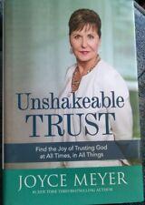 Unshakeable Trust : Find the Joy of Trusting God at All... Joyce Meyer Hardback