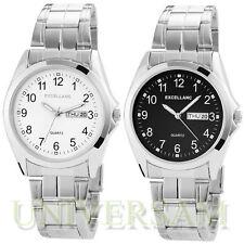 Excellanc Armbanduhren mit Datumsanzeige und Glanz