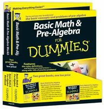 NEW: Basic Math and Pre-Algebra For Dummies by Zegarelli , IN SHRINK-WRAP