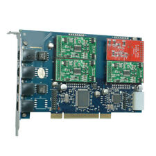 TDM410P 1FXO & 3FXS Asterisk card PCI card for freepbx Trixbox elastix  voip pbx