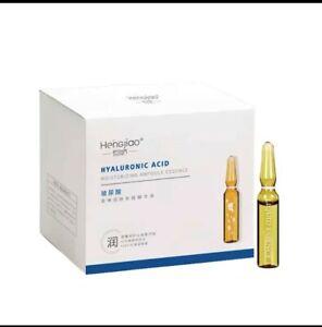 Fullerene Hyaluronic Acid Ampoule Face Serum Shrink Pores Anti-Ance 28 pcs/box