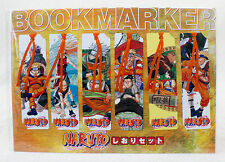 Naruto Bookmarker 6pc Set Jump Festa 2005 Kakashi Sakura JAPAN ANIME MANGA