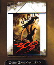 """300 SPARTANS Queen Gorgo FABRIC WALL SCROLL Movie POSTER BANNER 22"""" x 32"""" New"""