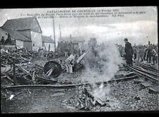 COURVILLE (28) CATASTROPHE FERROVIAIRE en GARE / TRAIN Paris-Brest en 1911