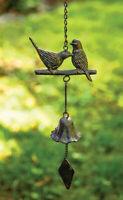 WIND CHIMES - SONGBIRDS WIND CHIME - GARDEN DECOR - BIRD WINDCHIMES